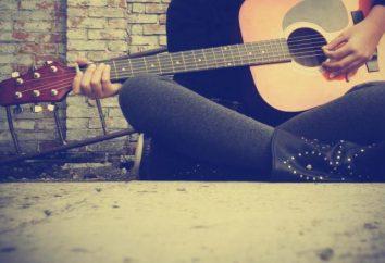 Guitarra: interpretação dos sonhos. Por que o sonho de um quebrado guitarra guitarra crianças, tocar guitarra?