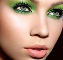 Vert Couleur des yeux: beauté naturelle