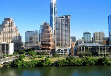 Ville d'Austin – la capitale du Texas