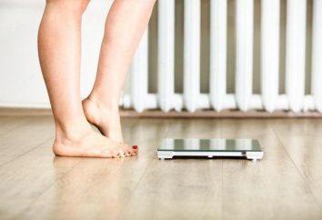 le poids et le taux de croissance pour les femmes et les hommes