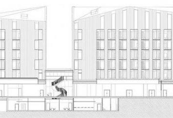 Hotelprojekt auf 10-50 Zimmer. Entwurf Eigenschaften