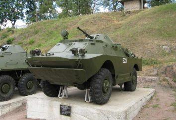 pojazd opancerzony BRDM-2: Dane techniczne, opis, zdjęcie