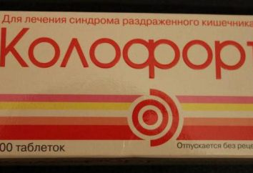 """Lek """"Kolofort"""": Opinie lekarzy, instrukcje obsługi, skład, cenę. Analogi """"Koloforta"""""""