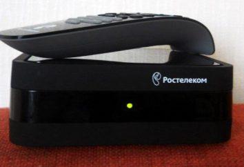 """TV interactiva """"Rostelecom"""": la instrucción, descripción, conexión y puesta"""