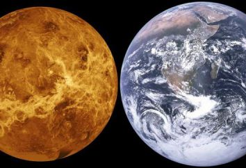Venus powierzchni: powierzchnia, temperatura, opis planeta