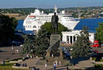 Gebiet Nakhimov (Sewastopol): Sehenswürdigkeiten in der Nähe. Wie kommt man zum Nakhimov Platz in Sewastopol zu bekommen?