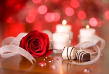 Jak pogratulować dziewczynę z ładnym Walentynki?