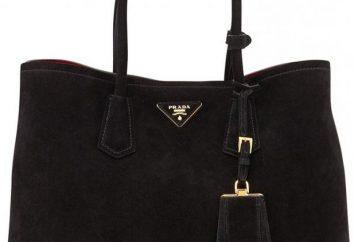 Wie eine echte Handtasche Prada zu unterscheiden? Tipps