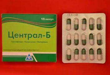 """Das Medikament """"Zentral-B"""": Gebrauchsanweisung"""