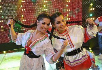 Julia i Katia Kolesnichenko: siostry, którzy żyją na pokaz