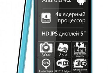 Smartphone Explay frais: avis, prix et spécifications