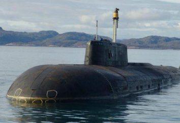 """""""Antey"""" sottomarini: specifiche tecniche"""
