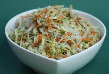 dîner cuisine salade de chou jeune