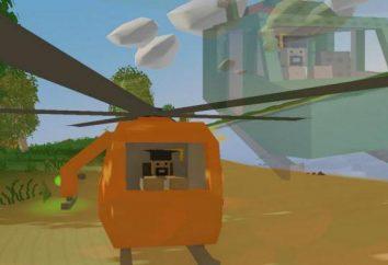ID elicottero Unturned. Raccomandazioni per gli elementi d'identità nel gioco