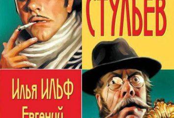 """Sinopse: """"12 cadeiras"""" por Ilya Ilf e Evgeniya Petrova. Os personagens principais do romance, citações"""