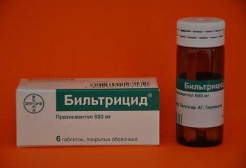 """Drogas """"biltricid"""": análogos, la instrucción y la información sobre el tratamiento"""