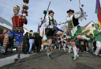 Comment célébrer le carnaval en Allemagne? Carnaval en Allemagne