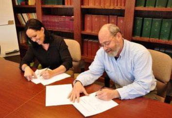 Il contratto di autore: la portata e tipi di