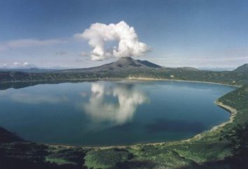 Kamchatka volcan Sheveluch: Informations de base