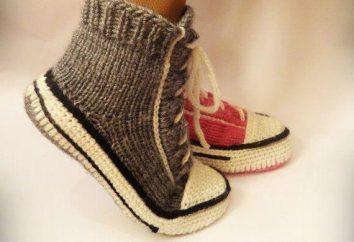 Ungewöhnliche Pantoffel-Schuhe: eine Meisterklasse