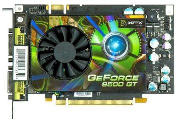 karta graficzna nVidia GeForce 9500 GT: specyfikacje, opinie