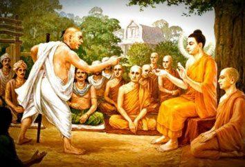 Der Mann, der im Angesicht des Buddhas gespuckt: eine philosophische Parabel