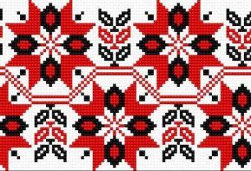 Haft ukraiński: kolory, wzory
