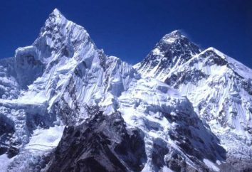 Góra Jomolungma: położenie i współrzędne