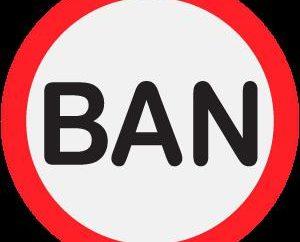 Was ist das Verbot und dass sie bereit ist?