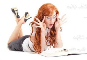 Per leggere alla ragazza per il tempo libero