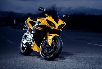 """Motocykl """"Yamaha R1"""": specyfikacje techniczne"""