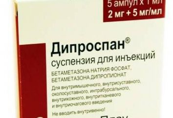 """strzały alergii """"Diprospan"""": aplikacja i opinie"""