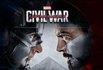 """Fin de la trilogie de Captain America: Comment partager aktery- """"Avengers"""" ( """"Opposition"""")"""