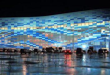 """Ice Palace """"Iceberg"""" (Sochi): endereço, descrição, fotos"""
