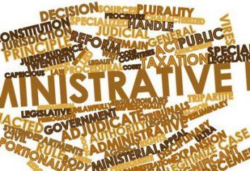 Sposób regulacji administracyjnych i prawnych. Zakres regulacji administracyjnej i prawnej