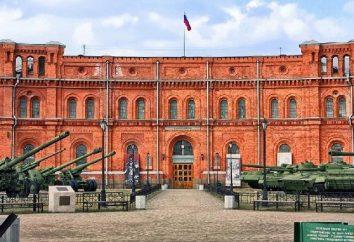 Museo di San Pietroburgo: il Museo di Artiglieria. Mostra pianificazione, indirizzo, sito web
