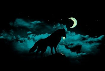 La luna crescente e decrescente