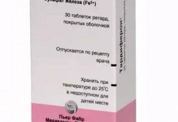 """Lek """"Tardiferon"""": instrukcję obsługi, opis, skład, analogi i opinie"""