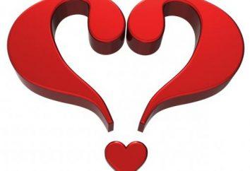 Znaki miłości wśród dziewcząt. Dziesięć najpopularniejszych