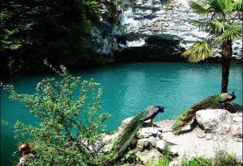 Blue Lake (Abkhazie) – un point de repère naturel unique