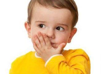 Leczenie jąkania u dzieci. Przyczyny jąkania u dzieci