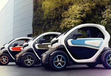 Renault Twizy: Dane techniczne, recenzje, zdjęcia. Renault Twizy 45