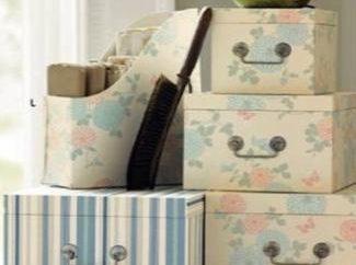 Pudełko do przechowywania rzeczy własnymi rękami
