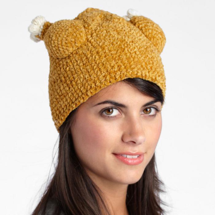 Popolare cappelli alla moda delle donne. Moda cappelli lavorati a maglia  ZA18