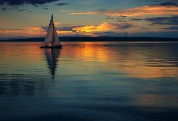 Lac Bele, Khakassie. Repos sur le lac Bele