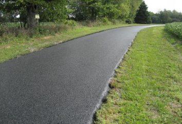 densità di asfalto. Composizione di asfalto, GOST, marchio, le caratteristiche