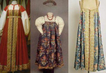Padrões de vestidos populares russos. Vestido Folk Russian para meninas
