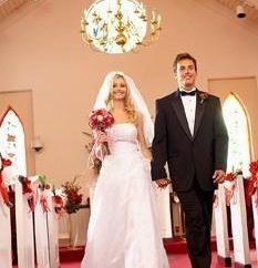 Hochzeit in den Kirchenzeichen, abergläubischen
