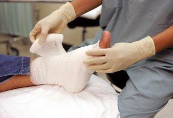Medizinische Dressings. Arten von Verbänden (Foto)