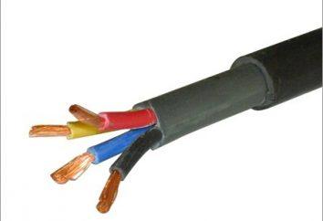 kablowe AVVG: Konstrukcja i dane techniczne